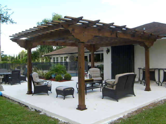 Pergolas attached to house quotes for Photos pergolas